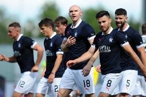 Falkirk secured a hard-fought point against Livingston on matchday one (picture: Michael Gillen)