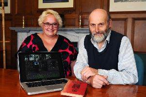 Two days before the bicentenary of James Watt's death, Geoff and Naomi's film will be shown in Bo'ness Library where a new exhibition is also being staged. (Pic: Michael Gillen)