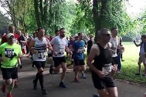 The runners set off from Beveridge Park