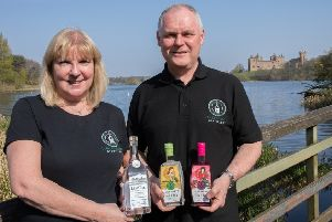 Linlithgow Distillery was founded by Linlithgow couple Ross and Alyson Jamieson.