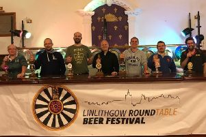 Linlithhow Round Table will hold its second Charity Beer Festival on 26th October, following the successful inaugural event last year.