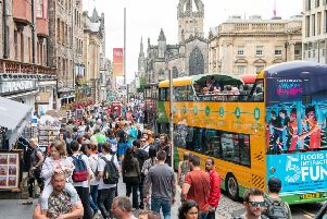 A report to committee suggested� that the county had the potential from the 'over-tourism' in Edinburgh which has led to visitors looking for accommodation further out of the capital.
