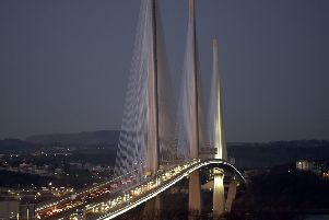 Pic Lisa Ferguson 30/11/2019. '''Queensferry crossing at rush hour.