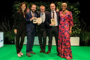 The Paul Hogarth Company landed the top UK Landscape Architects award for their 'What's Growing On The Greenway' community engagement project.