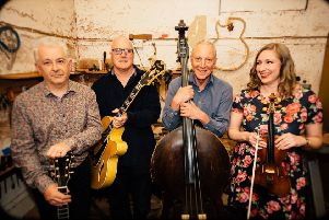 Led by the extraordinarily talented Seonaid Aitken on violin and vocals, Rose Room also features Tam Gallagher on rhythm guitar, Tom Watson on solo guitar and Jimmy Moon on double bass.