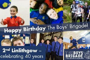 2nd Linlithgow Boys Brigade are celebrating their 40th Birthday this year.