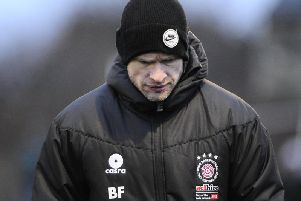 Linlithgow Rose manager Brown Ferguson