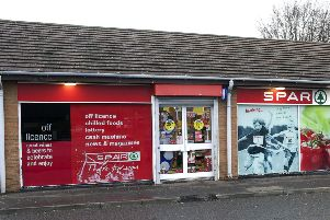 The current post office is based within the local Spar convenience store.
