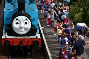 Dream come true...due to popular demand, Thomas the Tank Engine will be pulling the carriages during the Day Out With Thomas weekends in Bo'ness.