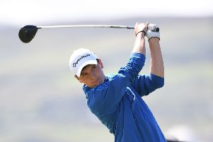 DONEGAL, IRELAND - AUGUST 04: Sam Locke of Scotland during the Boys Home International Cup at Ballyliffin Golf Club on August 4, 2016 in Donegal, Ireland. The annual three day tournament takes place on the north coast of Donegal between England, Ireland, Scotland and Wales. (Photo by Charles McQuillan/R&A/R&A via Getty Images)