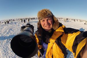 Wildlife cameraman Doug Allan is touring the country with his latest show, Wild Images, Wild Life.