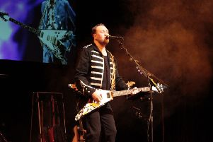 Lead guitarist Phil Walker and his band will perform the hits of many great guitar heroes at the Tivoli Theatre, Aberdeen.