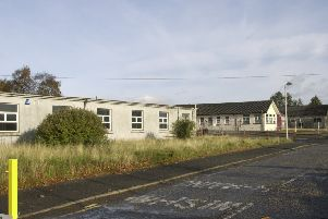 The defunct Law  Hospital Lanarkshire'Picture ALLAN MILLIGAN  date taken 29th October  2001 (electronic image)