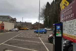 The supermarket manager ignored a flurry of tickets after he continued to park in the High Street Galashiels car park without paying.