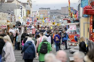 The big crowds attending the Links Market will be hoping for good weather this year.