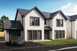 An artist's impression of the new Claymore Homes development at Cairnbulg