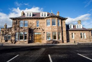 The transformed Eden Manor development in Stonehaven