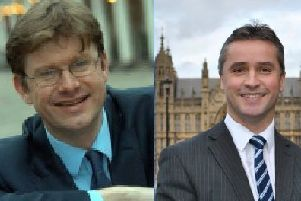 Mr Clark (pictured left) said he would follow up on Mr MacNeil's concerns regarding Ofgem's position.