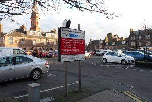 The fee changes apply to pay and display car parks