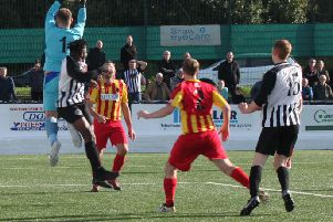 Rossvale rose to the occasion with a fine Scottish Junior Cup win at Cumnock (pic: Alison Scott)
