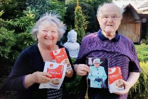 Audrey and Derek Parry got an unexpected anniversary gift from Macphie