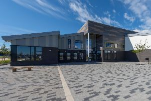 Work on the Hillside School extension is to start in January. Picture: Aberdeenshire Council