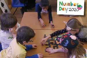 Children can take part in a range of activities as part of the NSPCC's fundraising Number Day on February 7.