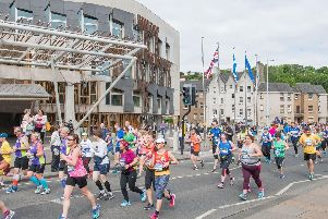 The Edinburgh Marathon Festival is set to bring disruption to city roads (Photo: Ian Georgeson)