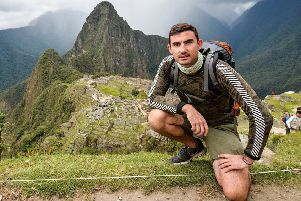 Simon Parker will talk about his adventures around the world.