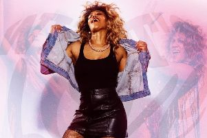 Elesha Paul Moses takes on the lead role of Tina Turner in the stage show What's Love Got To Do With It?
