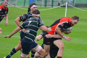 Lasswade rugby player Niall Gray against GHK