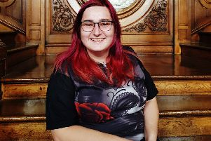 Newbattle Abbey College student Kayleigh Torrance from Dalkeith.