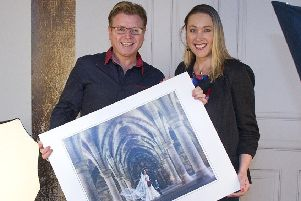 John and Sandra Parris, of Hawick's Parris Photography.