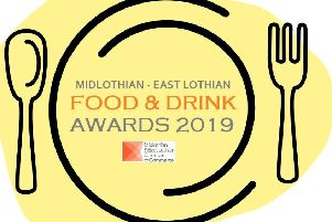 The Mid & East Lothian Food & Drink Awards 2019 logo.