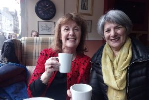 Yvonne Whitehill and Teresa Naylor of Care and Share Companionship
