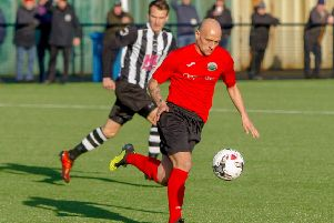 Paul Tansey in action for Dalkeith (picture: Scott Louden)