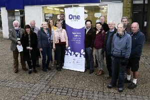 Pic Lisa Ferguson 01/04/2019'''Community group One Dalkeith has taken on the lease of the former Pick 'N' Save/Kitchen'Bathroom Showroom in the centre of the town with the idea of creating a much needed community hub.