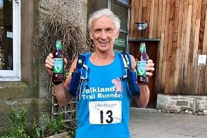 FTR M70 vet Bill Duff was the leading over-70 at the Fleetwood 10k.[Photo-Jim Close]