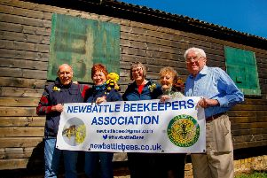 Members of Newbattle Beekeepers Association.