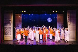 The cast of The Music Man have been hard at work rehearsing for Runway Theatre Company's annual spring show