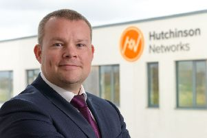 Paul Hutchinson, founder and CEO of Hutchinson Networks. Photo: Iain Robinson