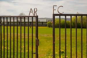 Arniston Rangers Football Club's ground in Gorebridge was broken into.