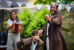 The Three Inch Fools are a five-strong troupe of actors, performing  Shakespeare's plays differently, across the UK.