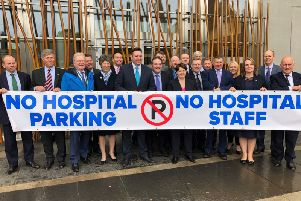 Scottish Conservatives calling for an end to car park charges at Scottish hospitals.