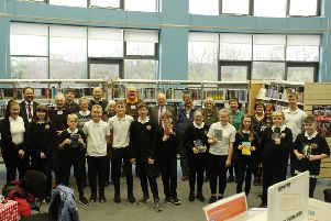 Volunteers from the local community have been reading with over 20 S1-S3 pupils, with impressive results