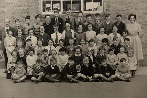 A picture of Crossroads pupils taken in 1962