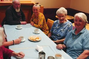 Members of Danderhall Lunch Club, which has been running for two decades in the village, and has seen a recent rise in numbers following a recent move.