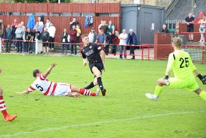 Clyde in action (picture: Craig Black)