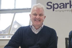John Hawkins Director Spark Energy in Selkirk.