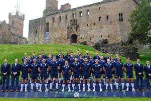 LINLITHGOW, Linlithgow Palace. Scotland Rugby Union World Cup squad for Japan 2019 announced by coach Gregor Townsend. (Picture: Michael Gillen)